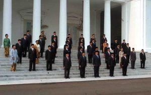 Foto Bersama Kabinet Indonesia Bersatu Jilid II